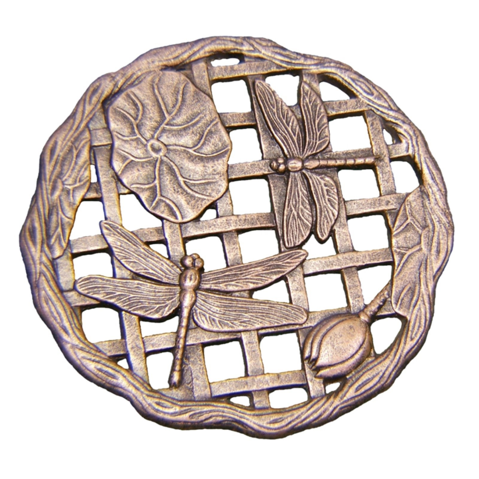 Oakland Living Stepping Stone Dragonfly - Cast Aluminum