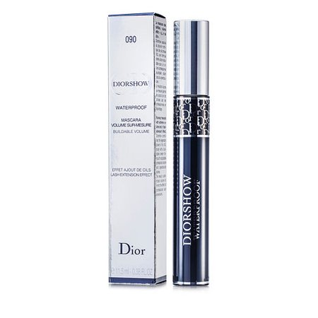 Christian Dior DiorShow Waterproof Mascara - # 090 Catwalk Black 0.38 oz Mascara ()