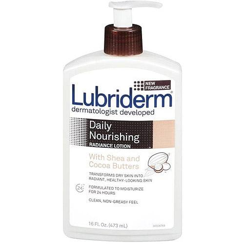 Lubriderm Skin Nourishing With Shea & Cocoa Butters Moisturizing Lotion, 16 fl oz