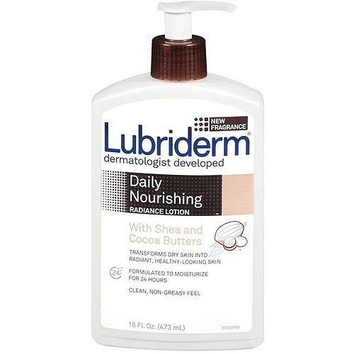 Lubriderm Skin Nourishing With Shea & Cocoa Butters Moisturizing Lotion, 16 fl oz
