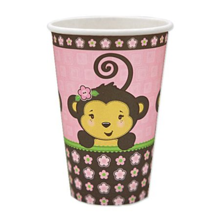 Monkey Girl - Hot & Cold Drinking Cups (8 count)](Hot Girls With Beer)