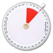 Learning Advantage Angleviewer 360 Deg. Visual Protractor