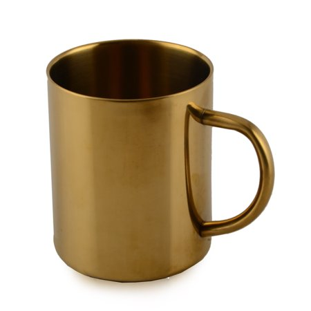 Stainless Steel Cups 400ml Pint Drinking Cups Metal Drinking Glass Water Cup for Kids and Adults - image 1 of 5