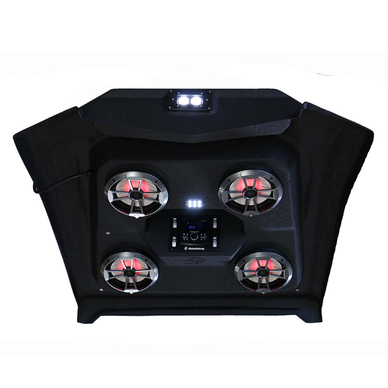Audioformz Polaris Rzr 1000 Stereo Roof Top Black 251000