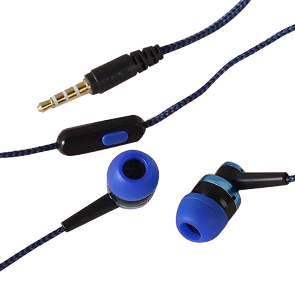 Bass Stereo In-Ear Earphone Headphone Headset Earbuds 3.5mm BU
