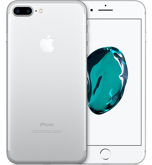 iPhone 7 Plus 32GB Silver (Unlocked) Refurbished Grade B