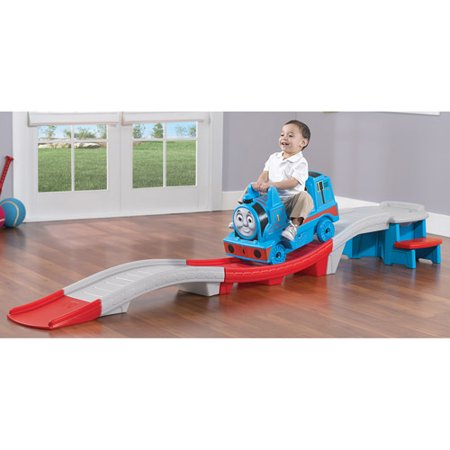 Step2 Thomas the Train Up & Down Roller Coaster Ride-On - Top Educational Toys For 1 Year Olds