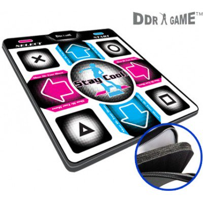 Dance Dance Revolution DDRgame (Super Sensitive-No More Delay) PS1 /PS2 Super Deluxe Pad (Version 4.0) with 1
