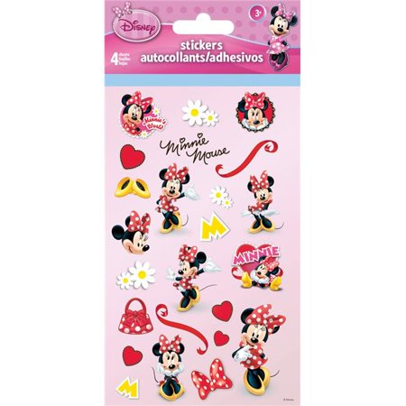 Minnie Mouse Invitation (Minnie Mouse Standard Stickers 4)