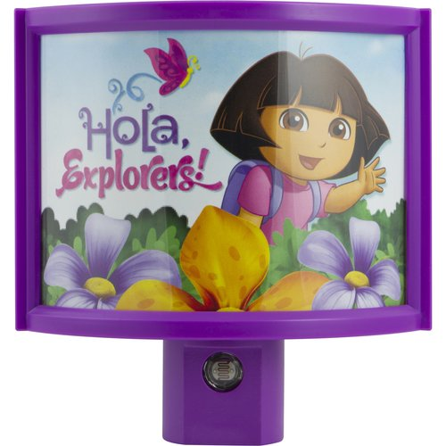 Nickelodeon Curved Dora Shade Nightlight
