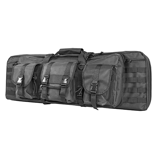 Double Carbine Case/Urban Gray/36 In