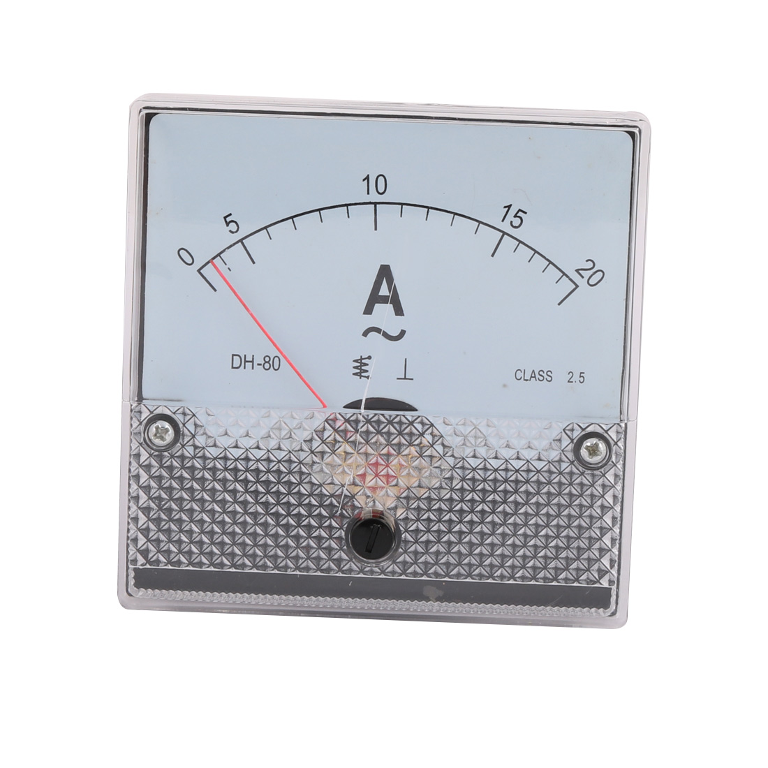 DH-80 Class 2.5 Accuracy AC 0-20A Analog Panel Meter Ammeter Amperemeter - image 3 de 3