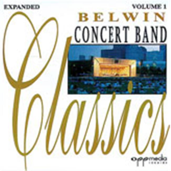 Alfred 00-EL9708CD CONCERT BAND CLASSICS V-1 EXP CD