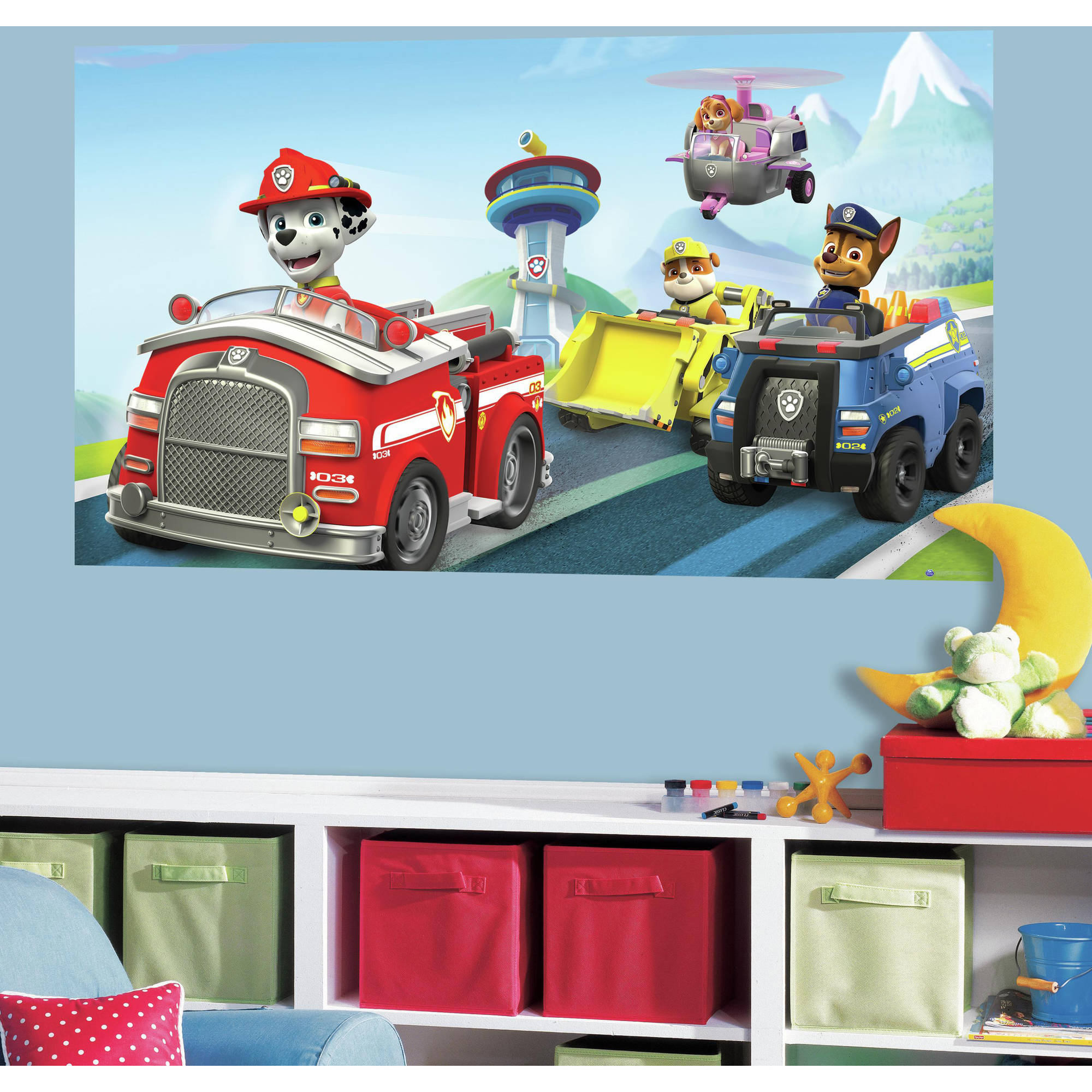 RoomMates Paw Patrol Peel and Stick Mural