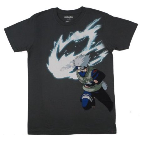 Naruto shippuden Kakashi Hatake White Fang Anime Adult T-Shirt - Best Adult Anime