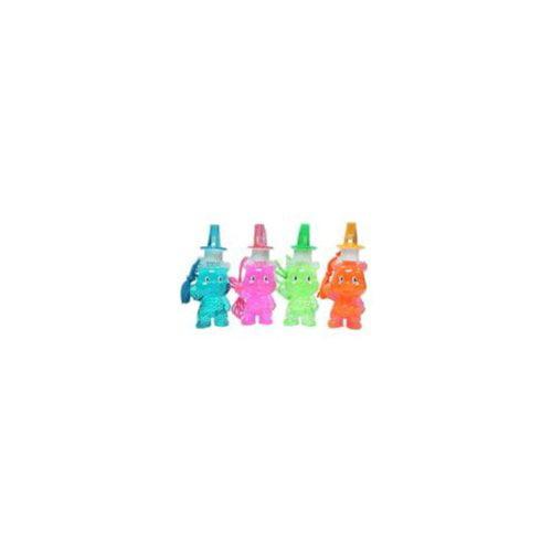 """Wholesale 6.5"""""""" Bear Bubble Whistle Necklace Toy Case Pac..."""