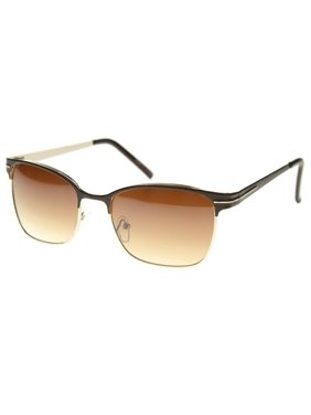 e76b0c8ac5 Product Image MLC Eyewear Retro Fashion Rectangular Horn Rimmed Sunglasses  S61NGW3110