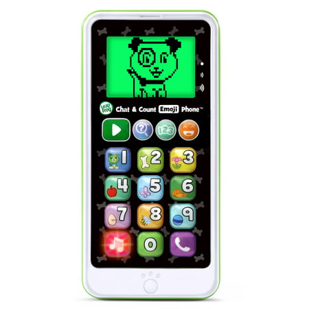 LeapFrog, Chat and Count Emoji Phone, Toy Phone, Learning Toy Leapfrog Learn Along Piano