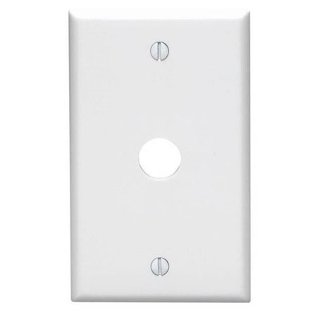 0.62 in. Hole Device Telephone & Cable Wallplate Box Mount, - Hole Device Telephone