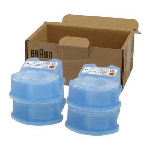 Máquina De Afeitar Braun afeitadora Syncro sistema limpio y renovar repuestos afeitadora recargas (CCR4) + Braun en Veo y Compro