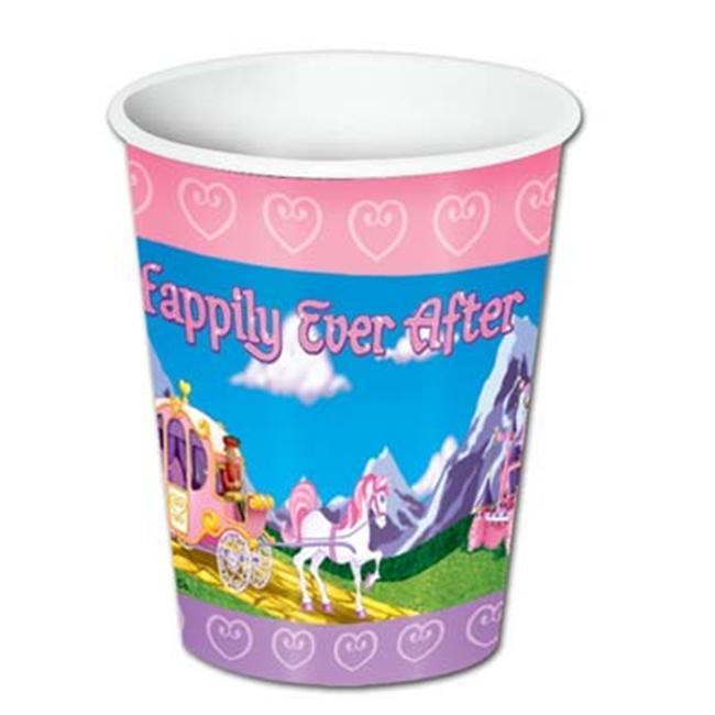Beistle - 58201 - Princess Beverage Cups- Pack of 12