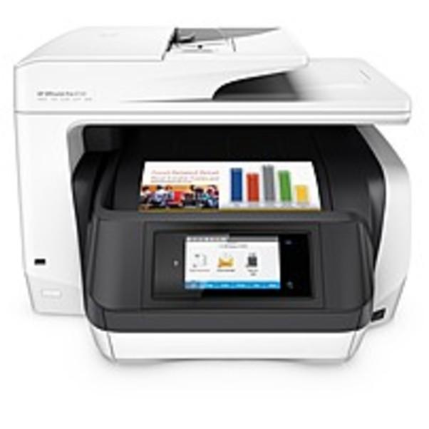 Refurbished HP Officejet Pro 8720 Inkjet Multifunction Printer Color Plain Paper Print Desktop Copier Fax Printer... by HP