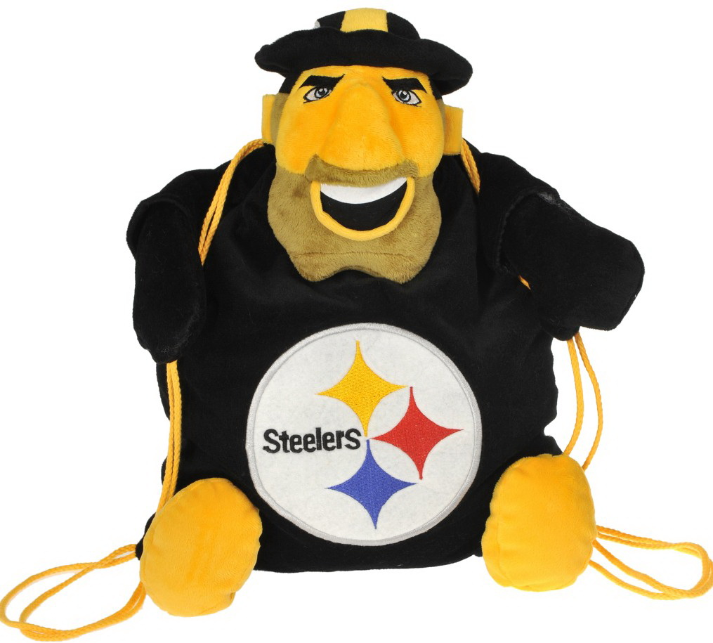 Pittsburgh Steelers Back Pack Pal by Forever Collectibles