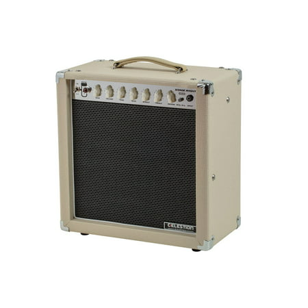 MONOPRICE 15-Watt, 1x12 Guitar Combo Tube Amplifier with Celestion Speaker & Spring Reverb