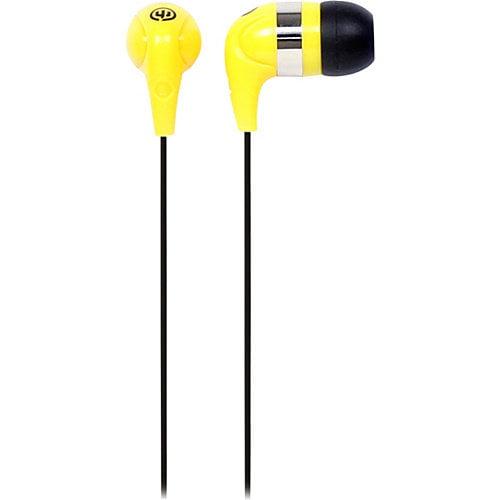 Wicked Jaw Breaker Earbud Yellow