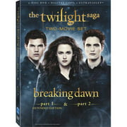 The Twilight Saga: Breaking Dawn - Parts One And Two (Extended Editon) (DVD + Digital Copy) (Walmart Exclusive) (With INSTAWATCH) (Anamorphic Widescreen)