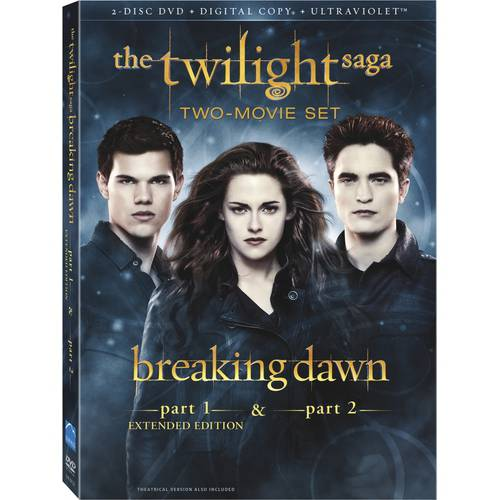 The Twilight Saga: Breaking Dawn - Parts One And Two (Extended Editon) (Walmart Exclusive) (DVD)
