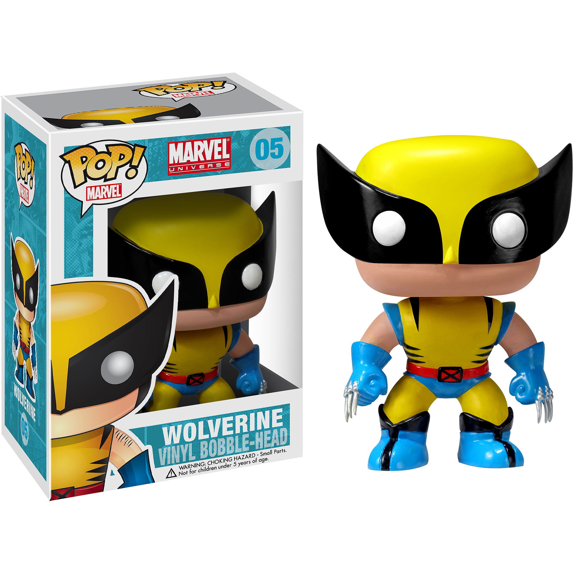 funko pop marvel wolverine vinyl bobble head walmart com