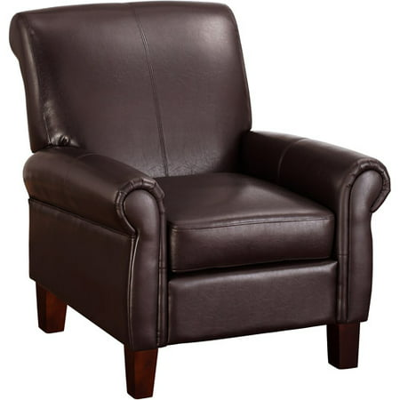 Dorel Living Faux Leather Club Chair, Multiple Colors Eco Leather Club Chair