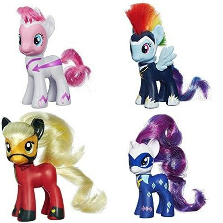 my little pony power ponies fili second pinkie pie zapp rainbow