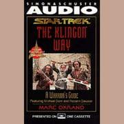 The Klingon Way - Audiobook