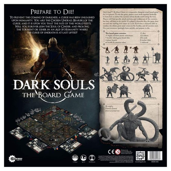 Dark Souls - The Board Game New