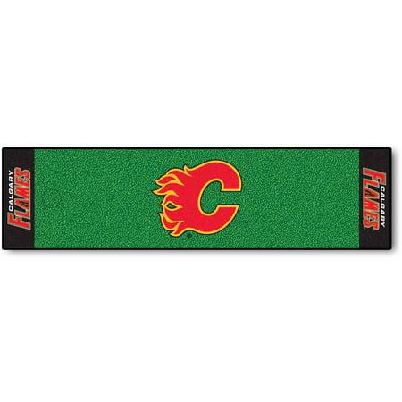 FanMats NHL Calgary Flames Putting Green Mat