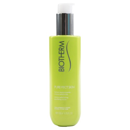 Biotherm Pure-Fect Micro Exfoliating Purifying Toner for Normal to Oily Skin 6.76 oz. Green Apple Peel