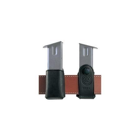 Galco S.M.C. Leather Magazine Carrier .357/.40/9mm Single Column Black, SMC18B ()