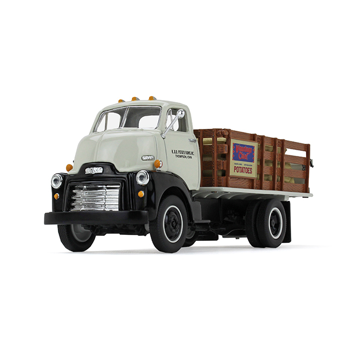1952 GMC COE Stake Truck with Sack Load K & B Potato Farms Inc. 1 34 Diecast Model by... by First Gear