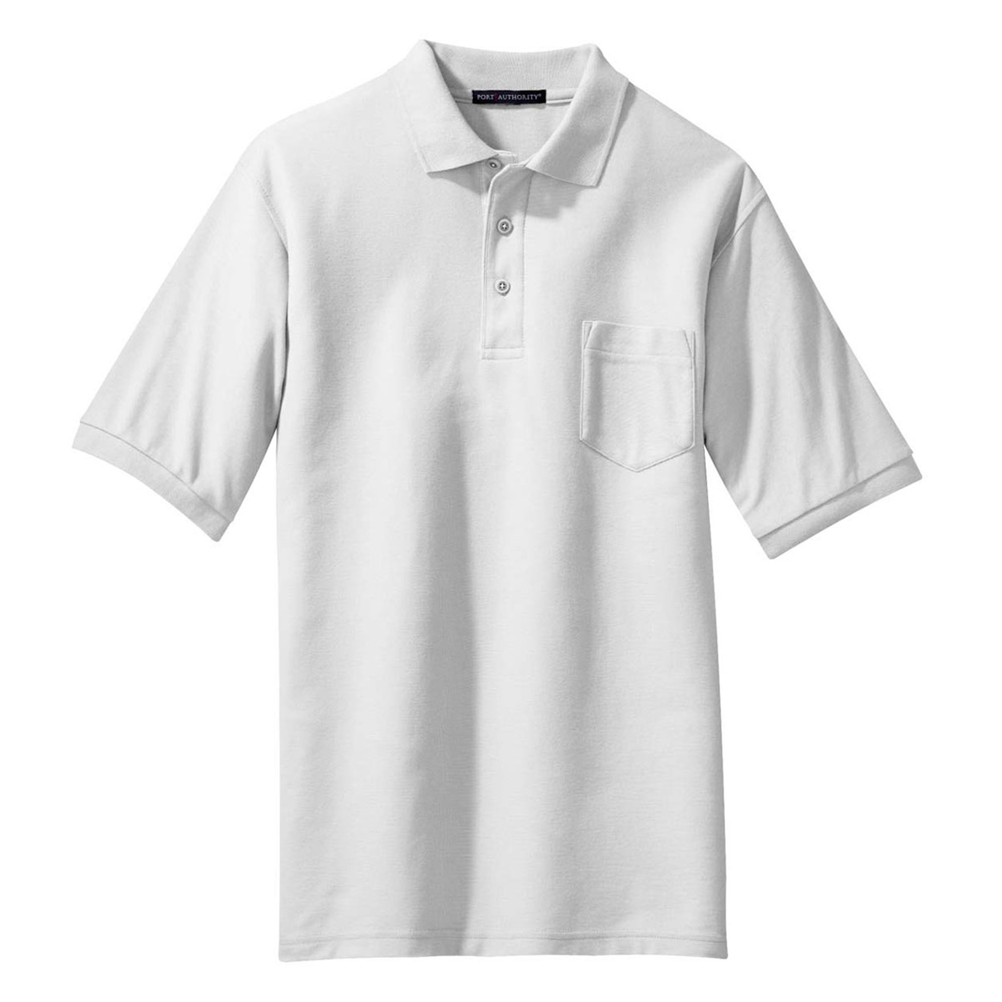 Port Authority Men's Silk Touch Knit Collar Polo Shirt