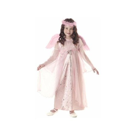 Child's Pink Harmony Angel Costume - Funny Mother Daughter Halloween Costumes