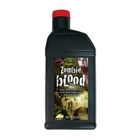 Bottle of Fake Blood - Using Fake Blood