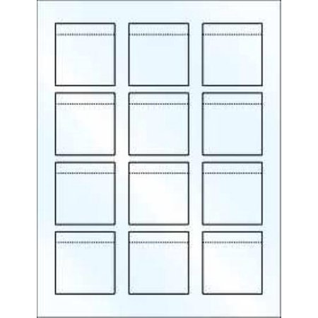 Blank Printable Reg. Lip Balm Tube White Label Sheet/12 Gloss  2Pack (Printable Halloween Treat Labels)