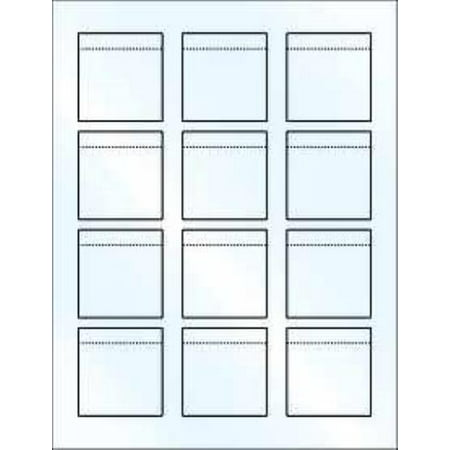 Blank Printable Reg. Lip Balm Tube White Label Sheet/12 Gloss  2Pack (Halloween Food Labels Printable)