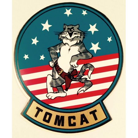 Grumman F-14 Tomcat Decal, Naval Aviation, Top Gun  DEC-0133