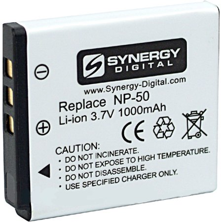 Fujifilm FinePix Real 3D W3 Digital Camera Battery Lithium-Ion (3.7 v 1000 mAh) - Replacement for Fuji NP-50 Battery