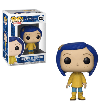 Funko POP Movies: Coraline: Coraline in Raincoat (Style May Vary)