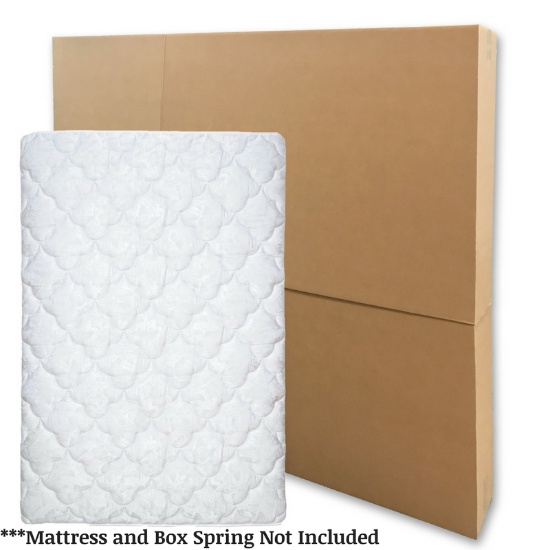 "Mattress Box King / Queen fits up to 80""x11""x79"""