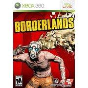 Sci-fi Action Cooperative FPS RPG Hybrid Game Borderlands for Xbox 360